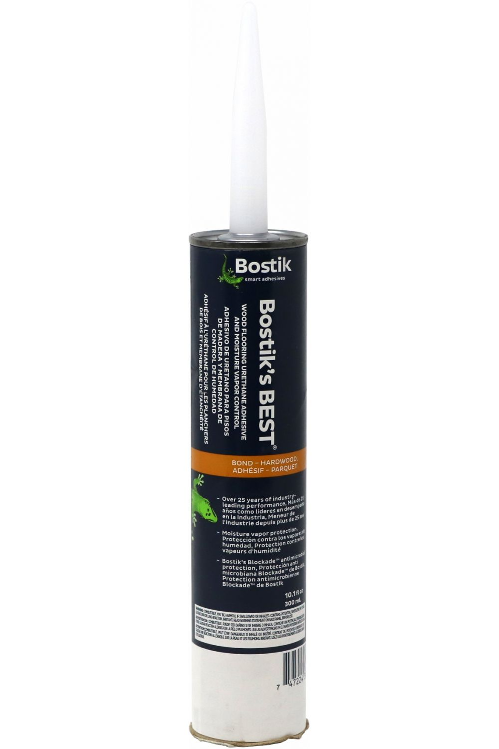 Bostik's Best Wood Flooring Urethane Adhesive 10.1 FL OZ Caulk Tube