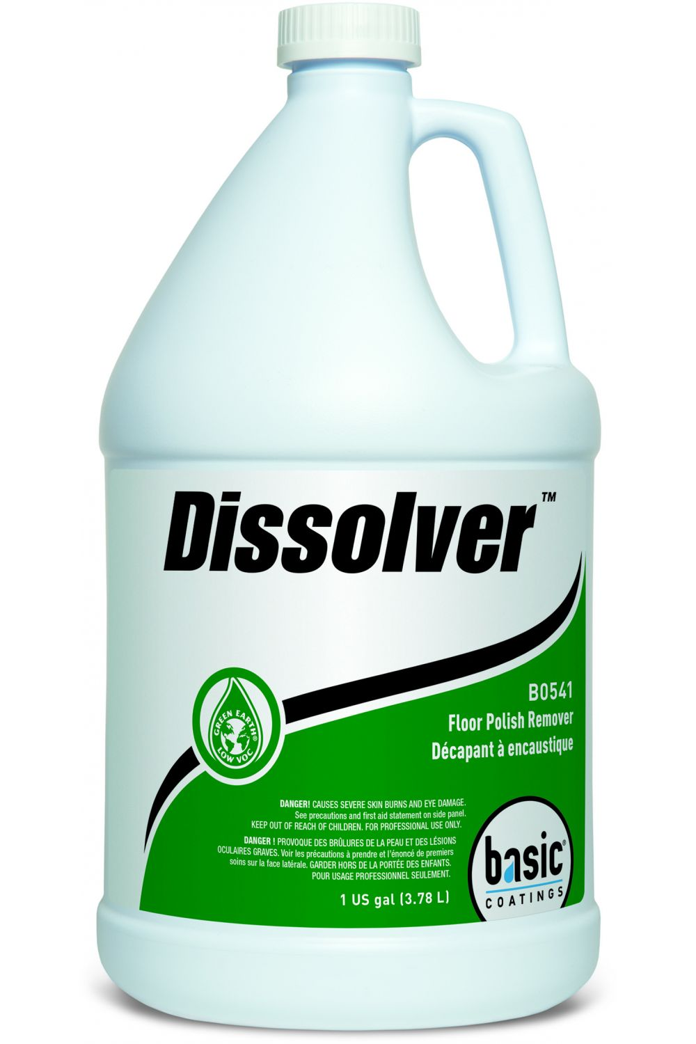 Basic Coatings Dissolver Floor Polish Remover